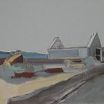 Tayvallich 4 41 x 31cm Oil 2012