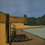 The Gate Oil 51 x 61cm 2008